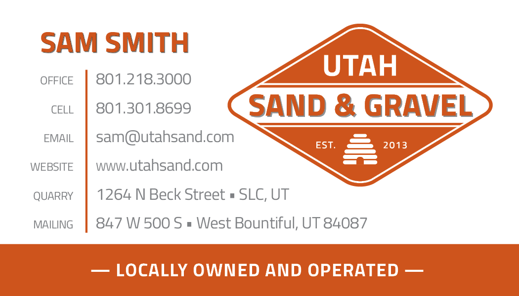 Utah Sand and Gravel contact info